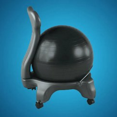 Ergonomic Chair Exercise Ball Covers Wayfair Why I Switched My Office With An And