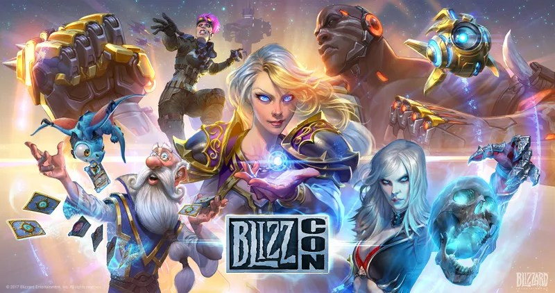 blizzcon s posters were