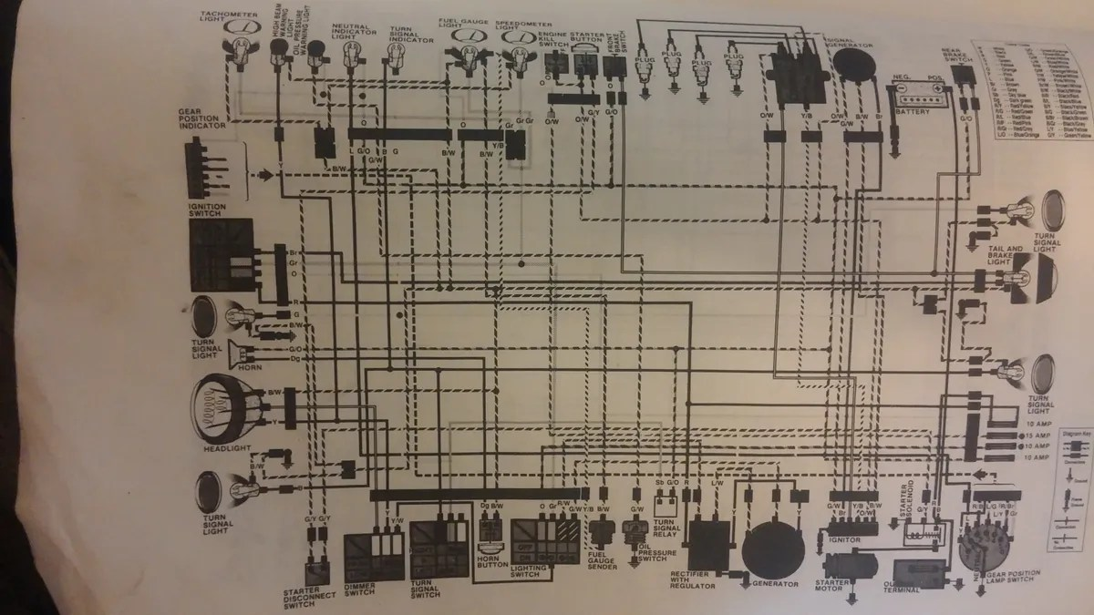 hight resolution of gs1100e wiring diagram