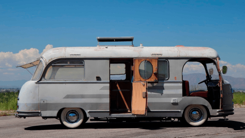 small resolution of this amazing porsche 356 powered fwd camper is up for auction and may be the slowest porsche ever