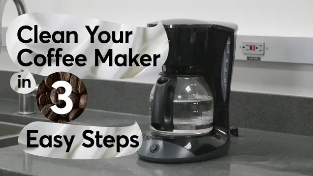 Deep Clean Your AutoDrip Coffee Maker In Three Easy Steps