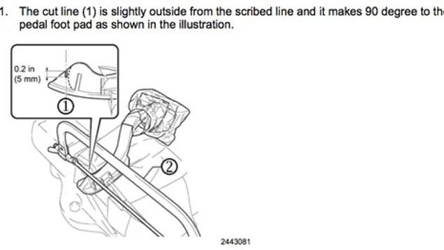 Latest Toyota Pedal Fix Involves Hacksaw, Bubble Wrap