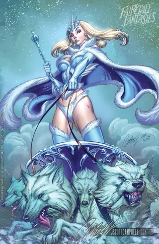 J. Scott Campbell's Snow Queen