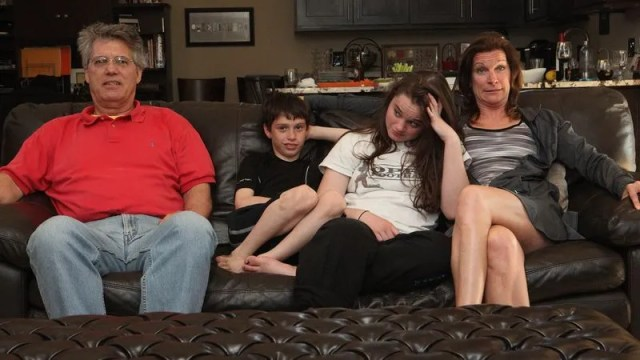 The Schaeffer Family Hangs On For Dear Life As The Movies Sex Scene Enters Its 10th Excruciating Second