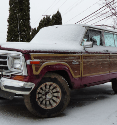 my 800 jeep grand wagoneer runs for the first time in 12 years but my project is still doomed [ 1600 x 900 Pixel ]