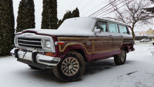 small resolution of my 800 jeep grand wagoneer runs for the first time in 12 years but my project is still doomed