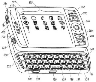 Touchscreen Blackberry Patent Suggests RIM has SideKick-Envy