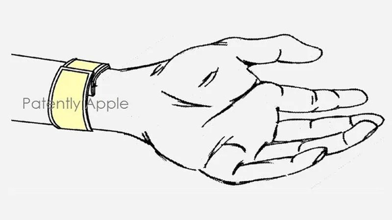 This Apple Slap Bracelet Patent Doesn't Tell Us Much About