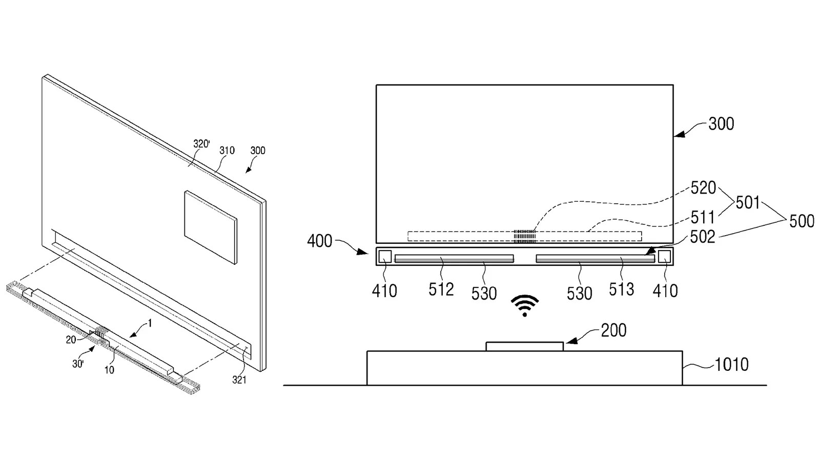 hight resolution of samsung s all wireless tv concept is the real cordcutting solution i want