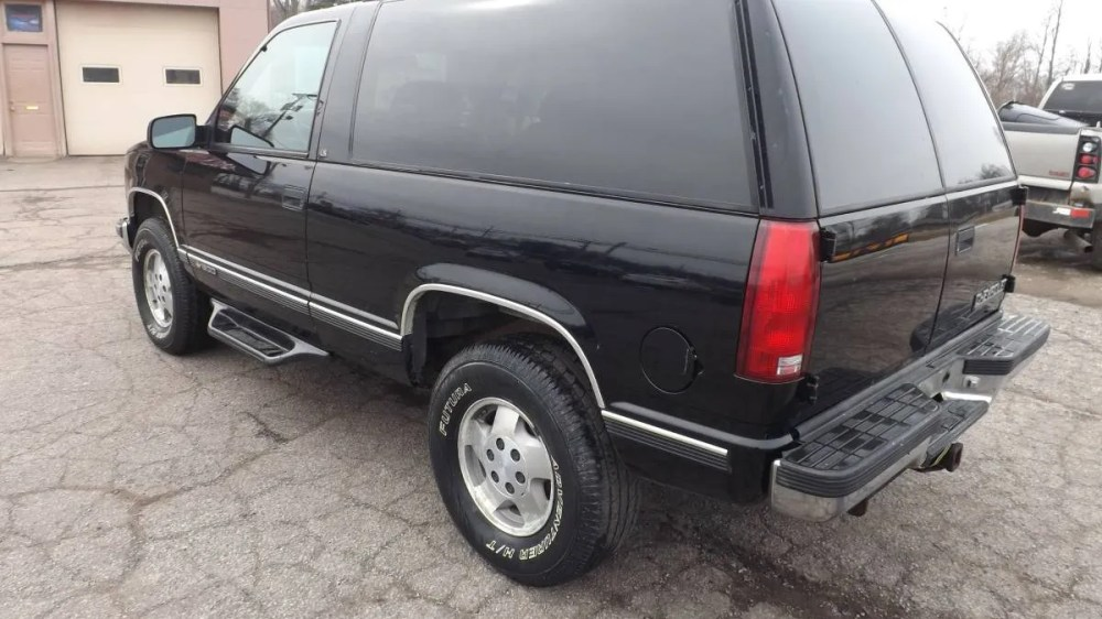 medium resolution of at 4 800 could this 1995 chevy tahoe turbo diesel 4x4 make you a trucking nut