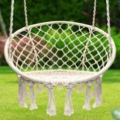 Hammock Chair Swings Ergonomic Repair Hang Out With Friends In This 53 Swing Sorbus Macrame Amazon Photo