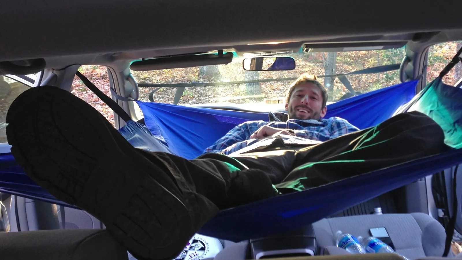 A Hammock For Your Car Gives You A Cheap Home If The