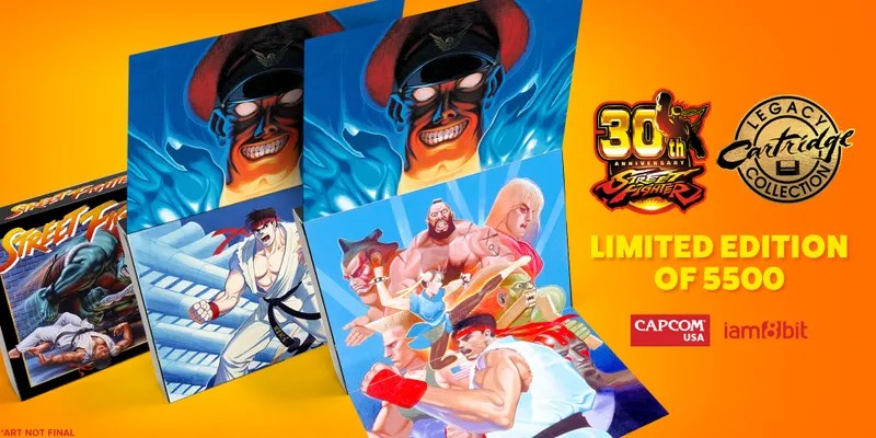 Image result for Capcom Is Re-Releasing Street Fighter 2 On A SNES Cartridge