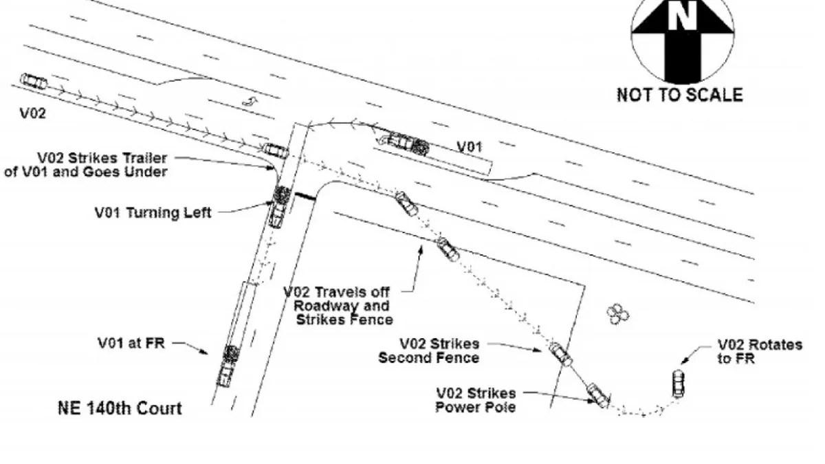 hight resolution of parking lot accident diagram
