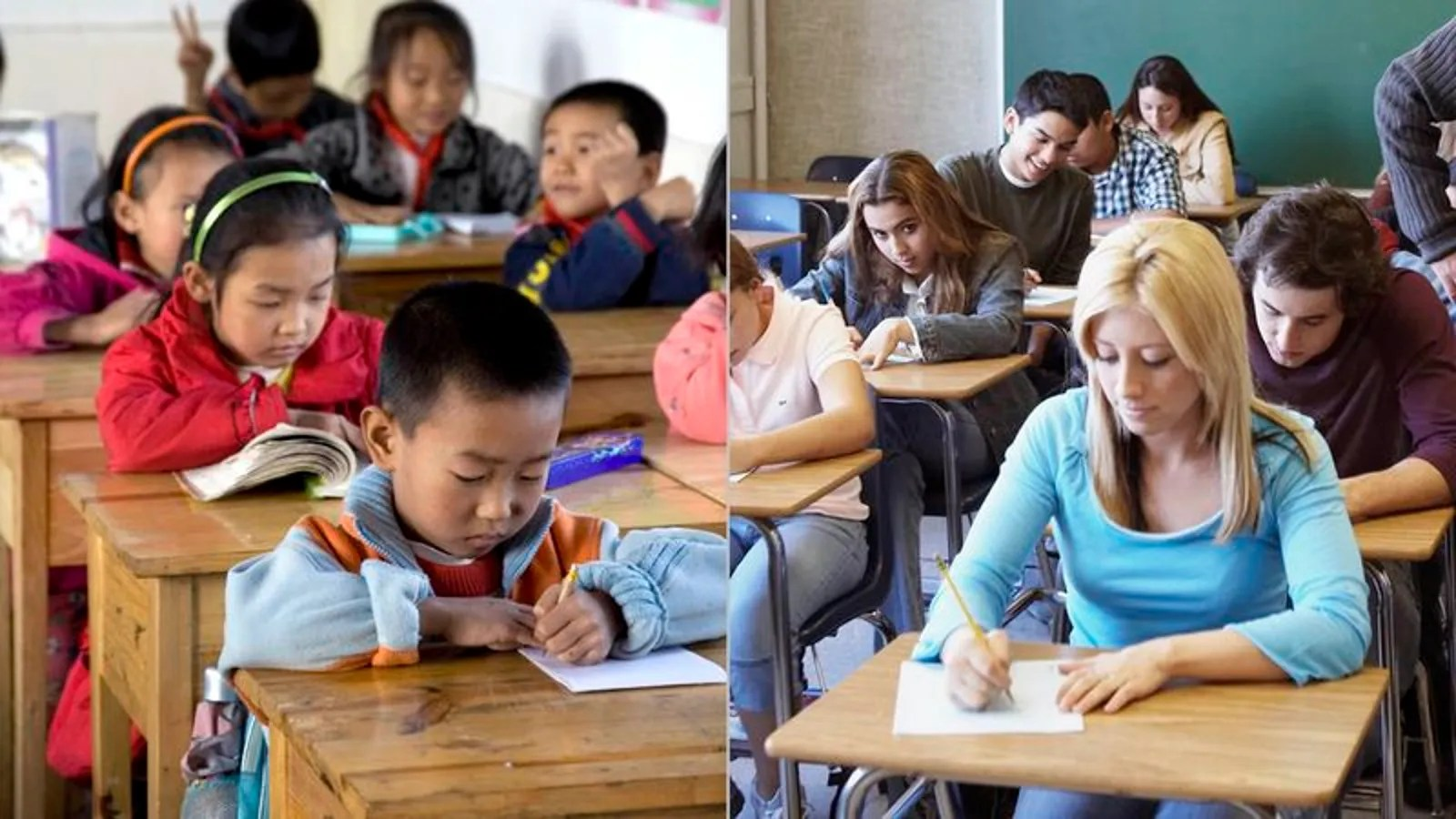 Report Chinese Third Graders Falling Behind U S High