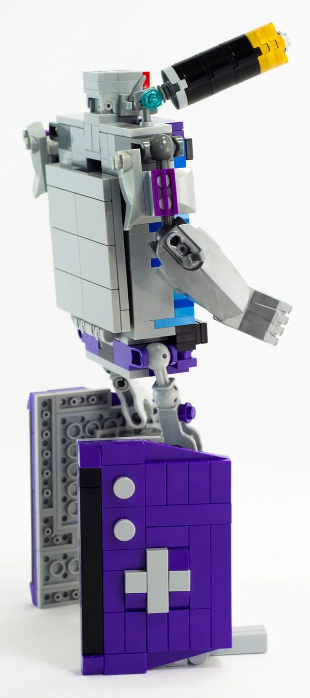 Kickass LEGO Transformer Turns Into a Game Boy Advance
