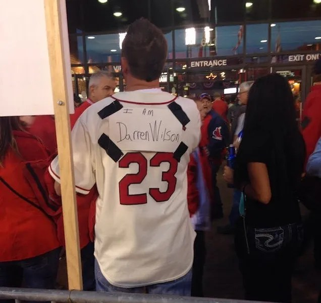 Cardinals Fans Get Ugly In Clash With Ferguson Protesters