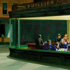 Ninja Turtles Chair Wedding Covers Hire Kent The Avengers Inside Hopper's Iconic Nighthawks Painting