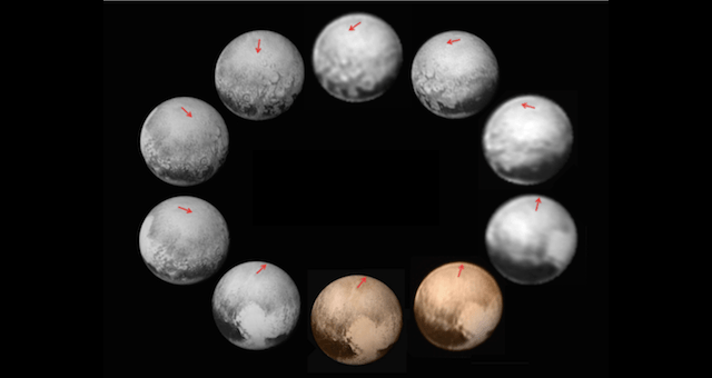 This is a Single, Endless Day on Pluto