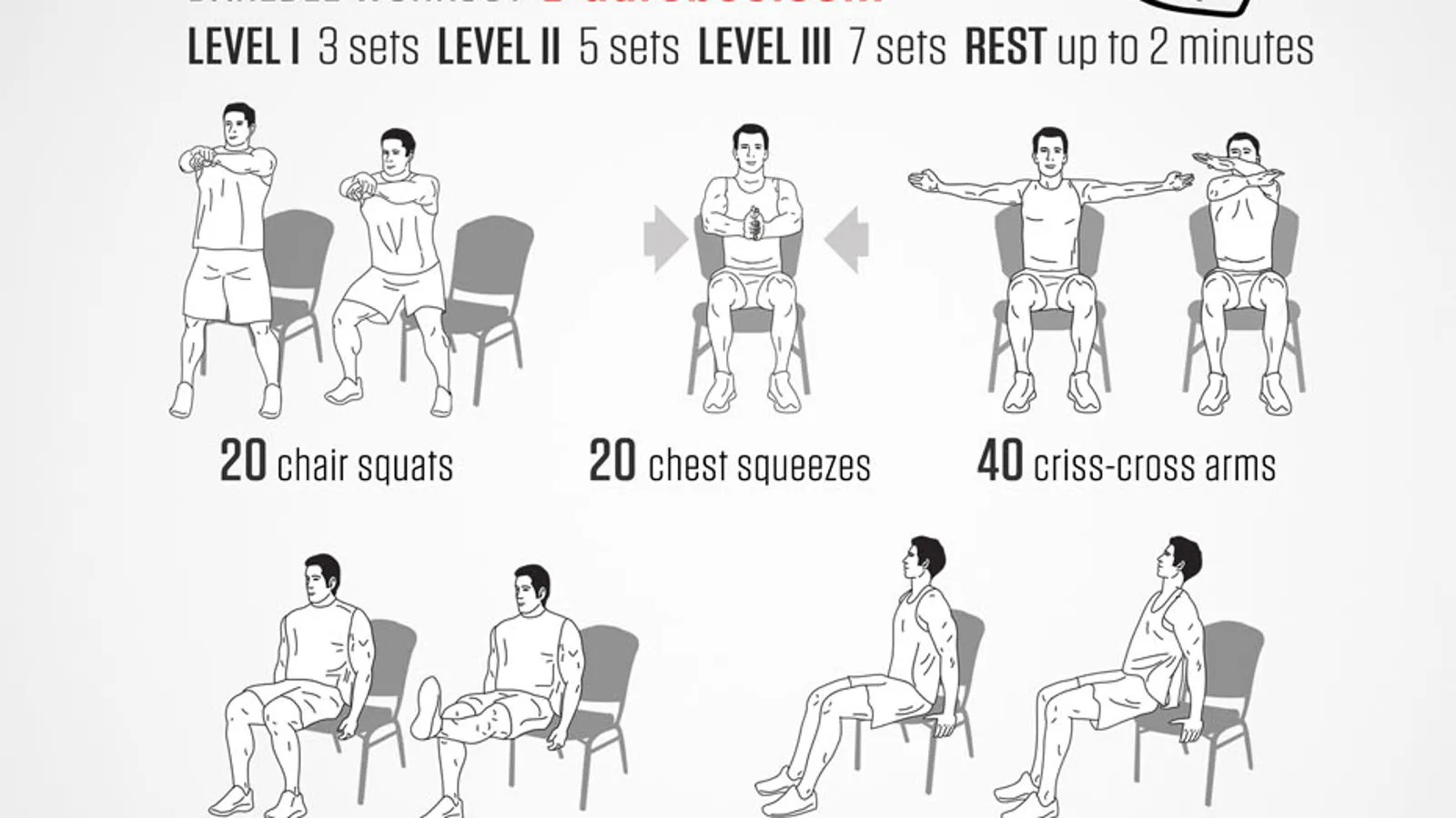 A FullBody Workout You Can Do In Your Office Chair
