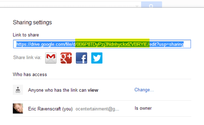 Share Direct Links To Files In Google Drive And Skip The
