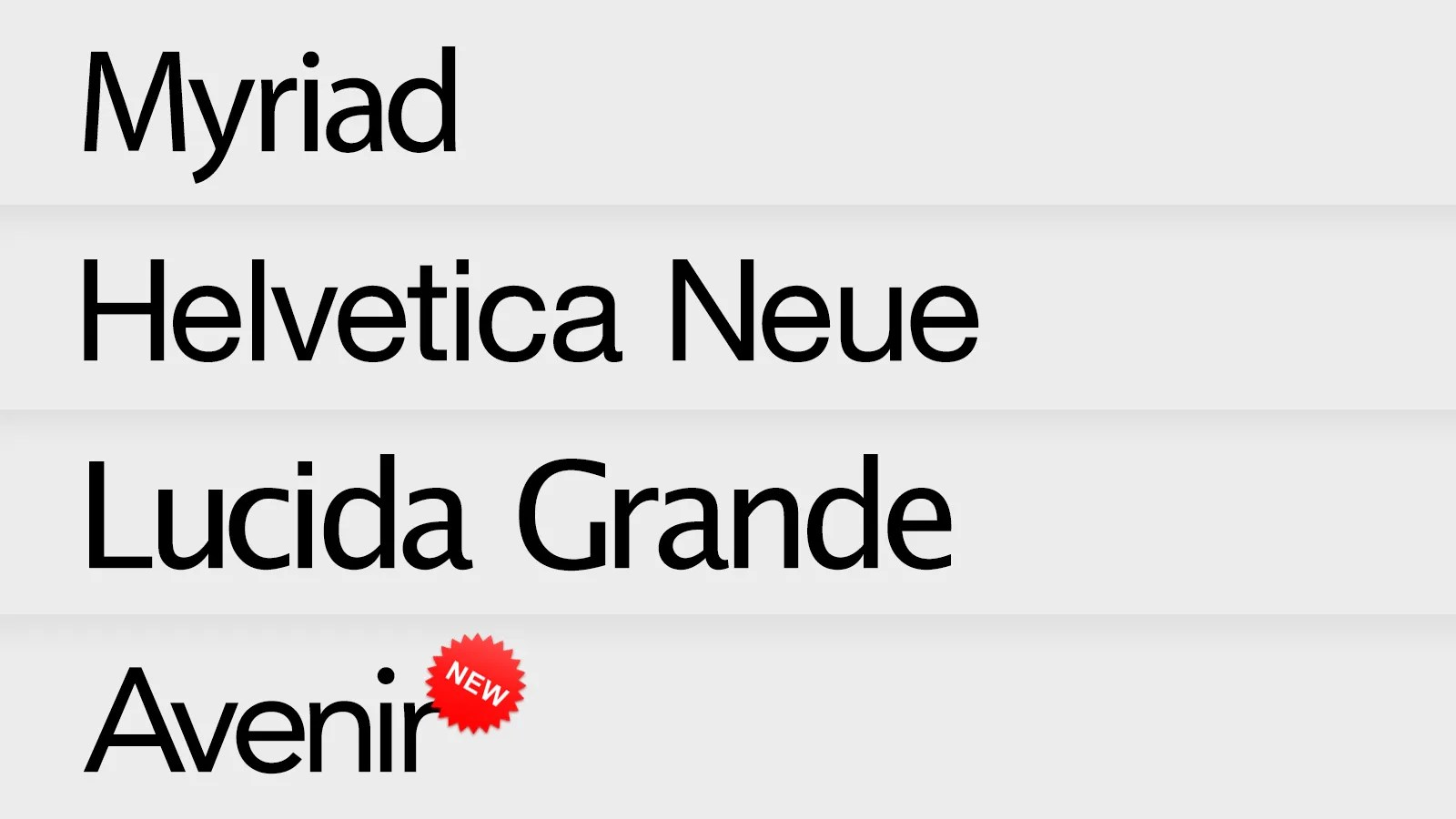 This Is Apple's New Favorite Typeface (Updated)