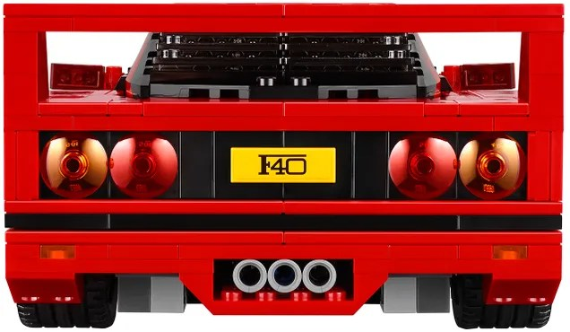 Lego's Gorgeous New Ferrari F40 Even Has a Removable V8 Engine
