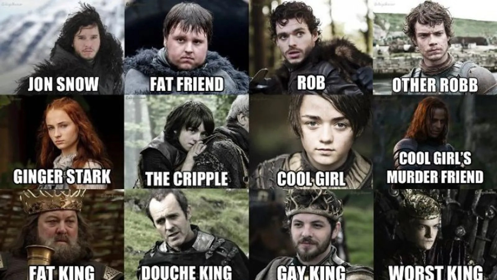 This Game Of Thrones Cheat Sheet Features Such Beloved
