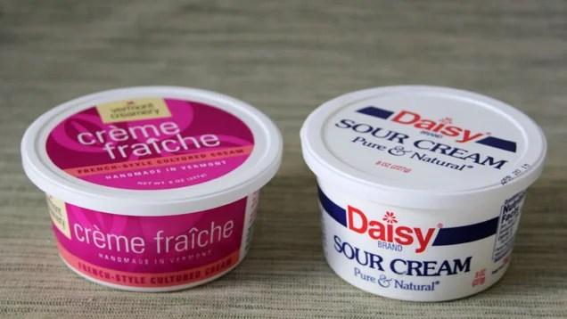 Sour Cream Crema Crème Fraîche: What's the Difference?