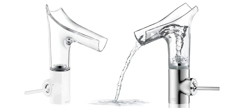 A Vortex Faucet Adds Much Needed Excitement To Washing