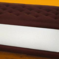 Ice Cream Sandwich Chair Logo Design The Bench