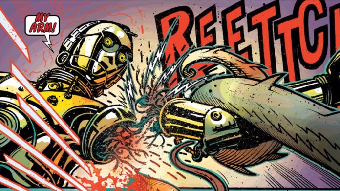So Now We Know How C-3PO Got His Red Arm In The Force Awakens