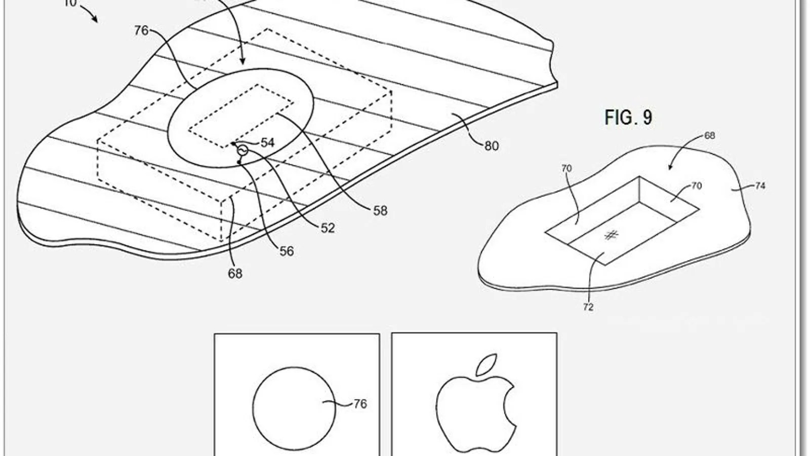 Apple Plans to Put Antennas Behind the Logo on Future iPhones