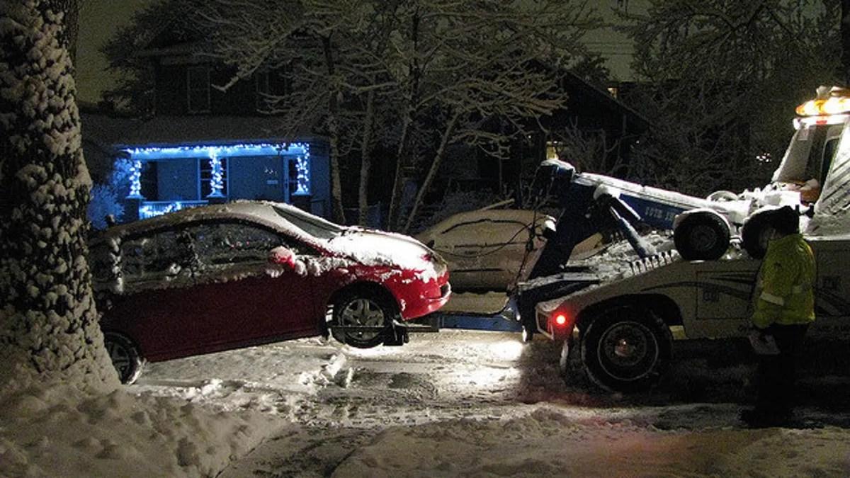 hight resolution of honda civic stuck in snow