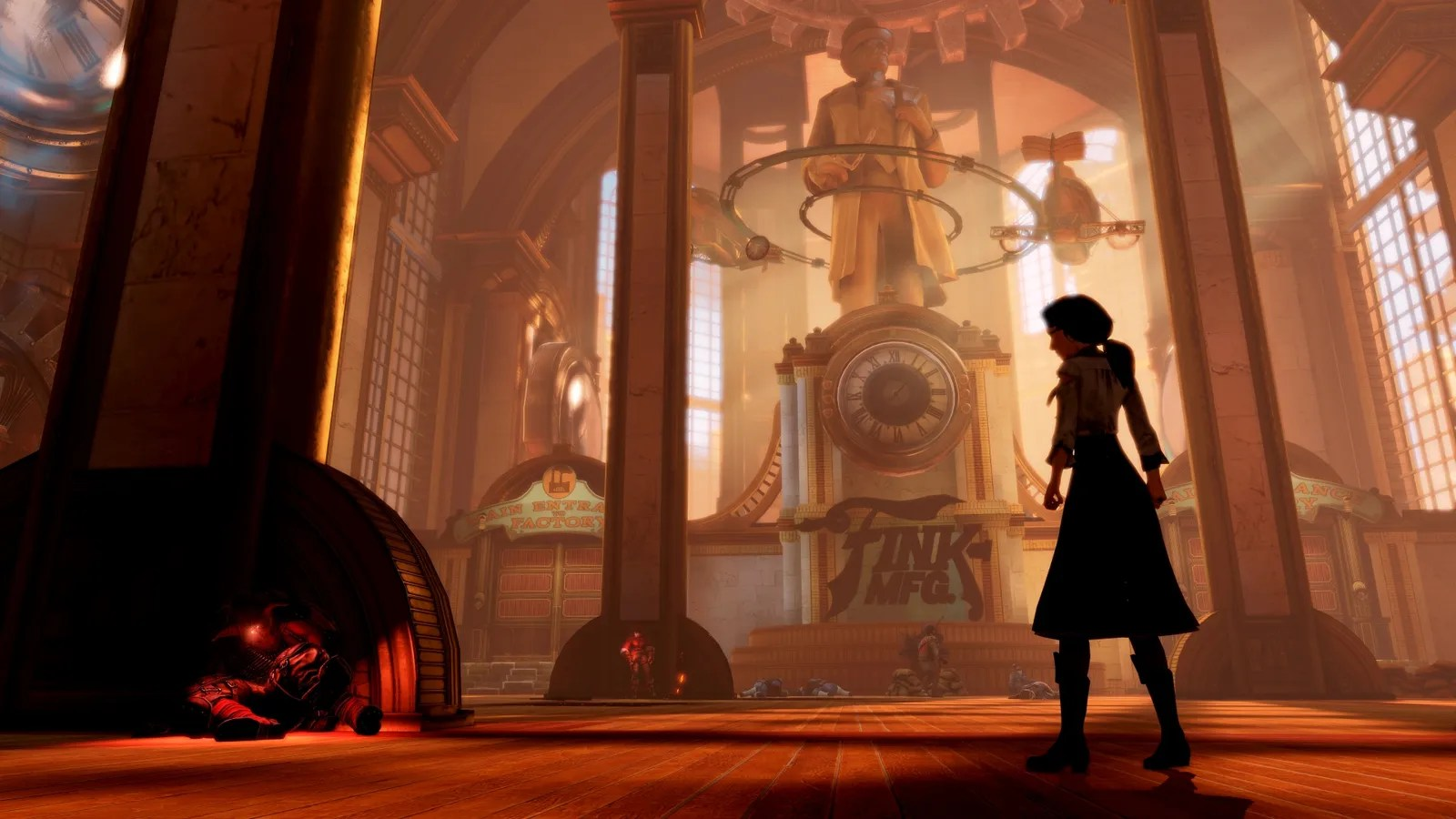 Wallpaper Art Falling A Super Technical Look At The Lighting Of Bioshock Infinite