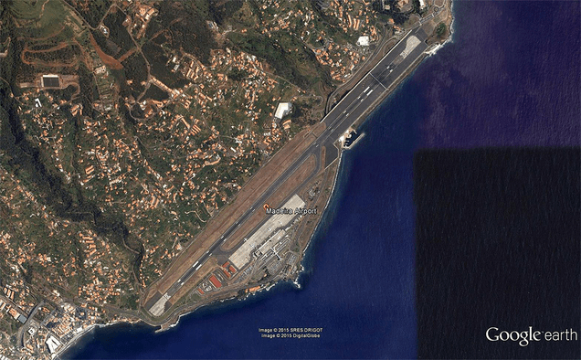 This Portuguese Island Has A Crazy Airport With A Runway Built On Stilts