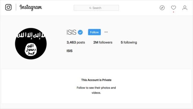 Illustration for article titled Intelligence Setback: The CIA Is In Crisis Mode After ISIS Made Its Instagram Private