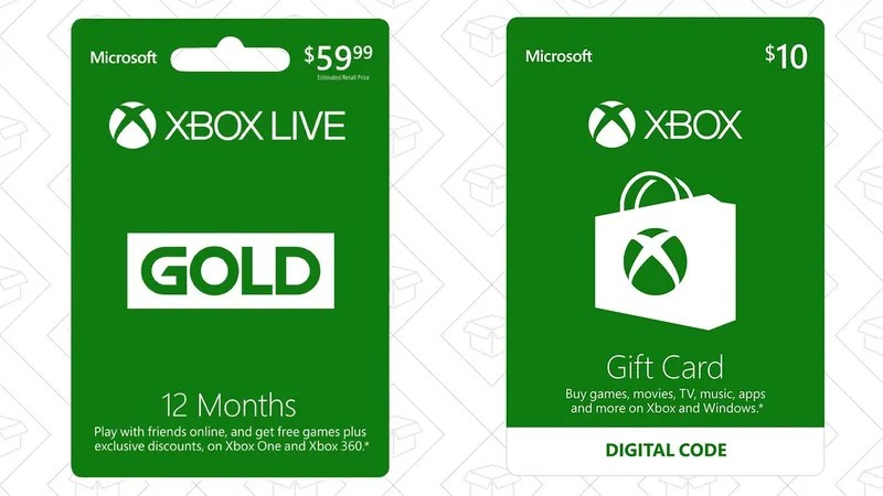 Buy A Three Or 12 Month Xbox Live Gold Membership, Get A