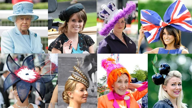 The Aristocracy Shows Off Their Hats Glorious Hats At