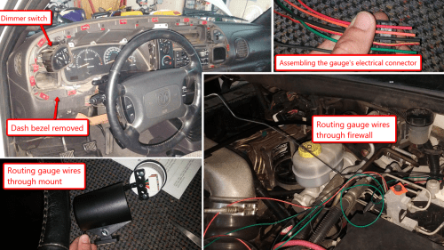 small resolution of 1996 dodge diesel wiring harnes
