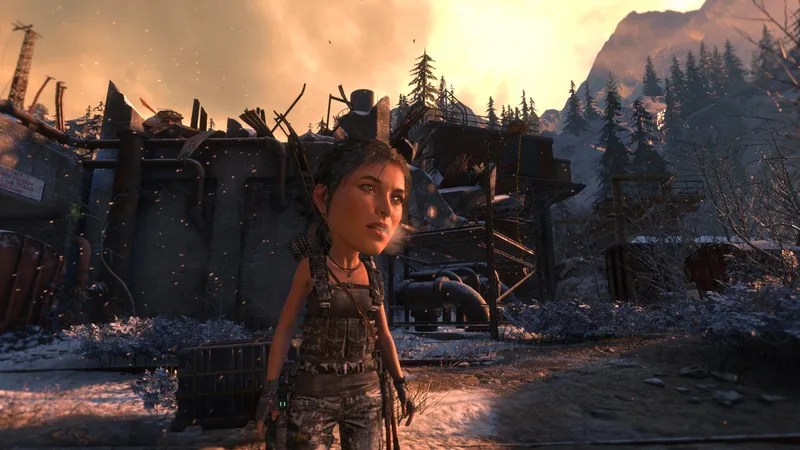 Rise Of The Tomb Raider'sBig Head Mode Is Pretty Good