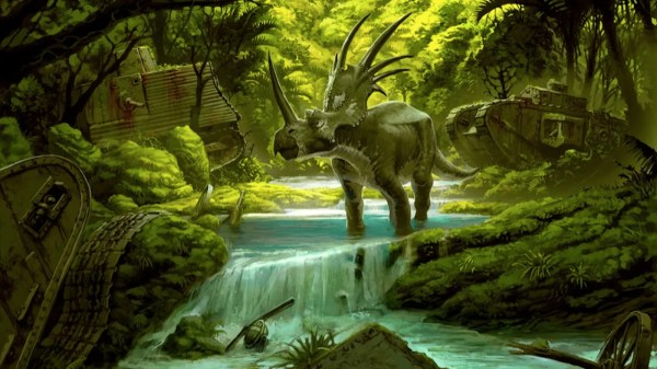 War Dinosaurs Returned Zealand
