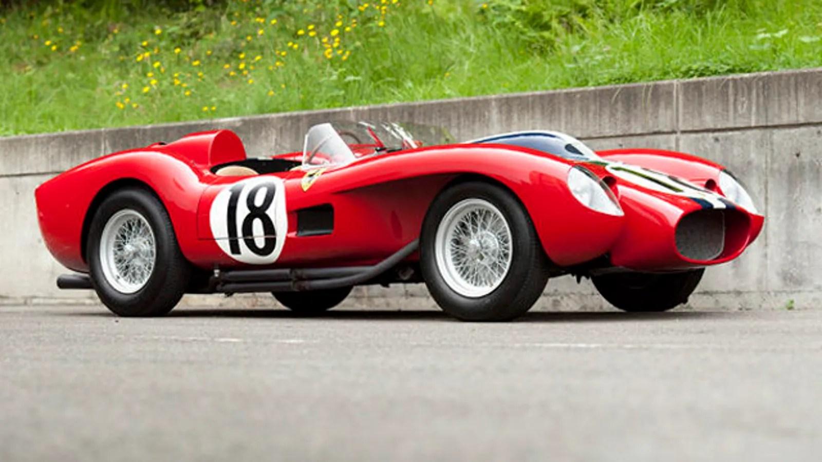 1957 Ferrari 250 Testa Rossa Prototype Becomes Most Expensive Car