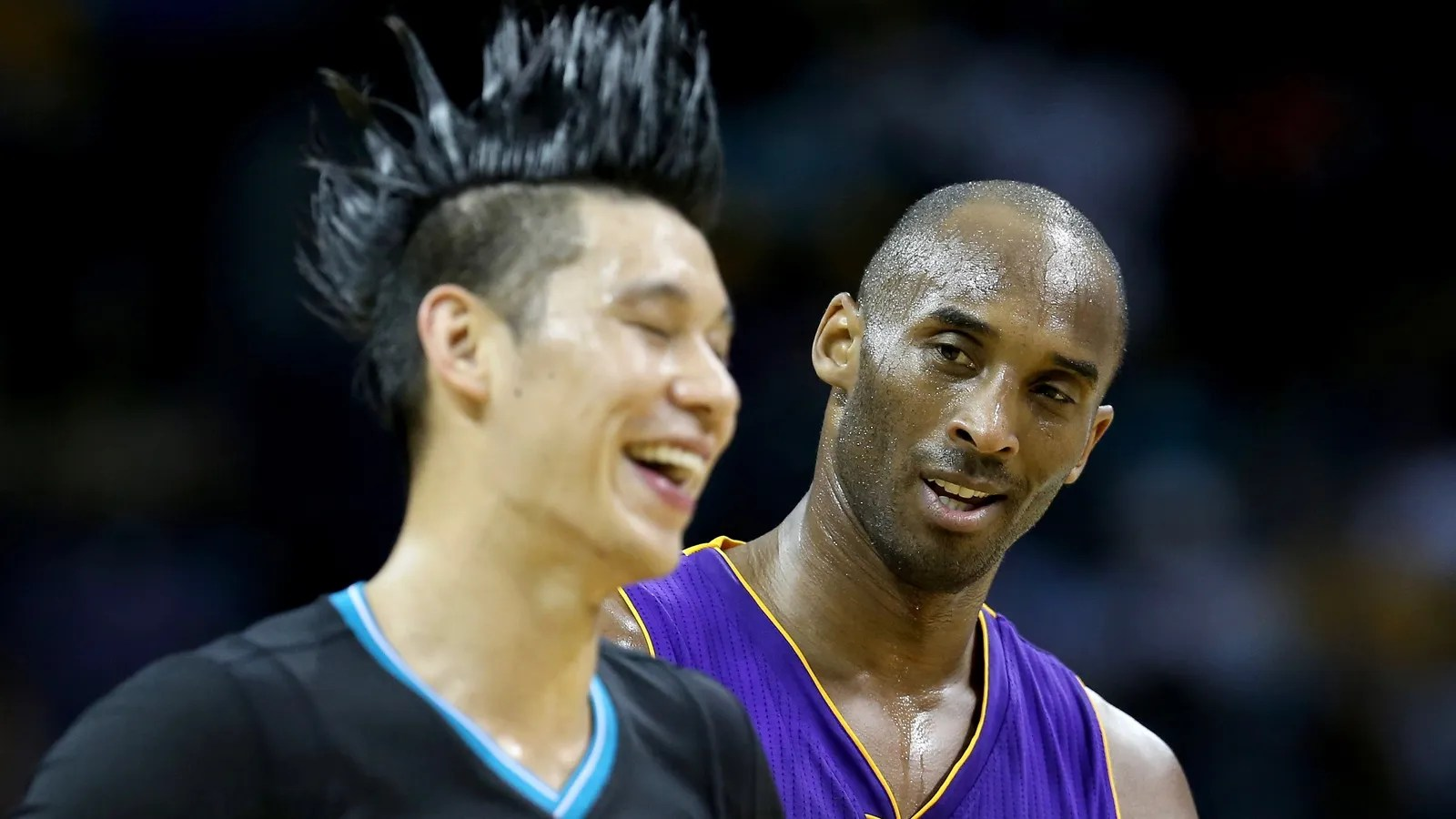 Kobe Tried To Rip Jeremy Lins Head Off