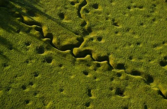 Los paisajes de la Primera Guerra Mundial, 100 años después