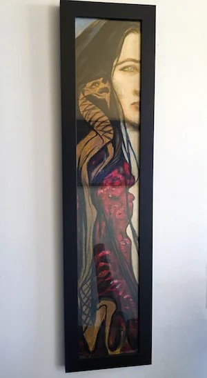 Adam art mystery woman