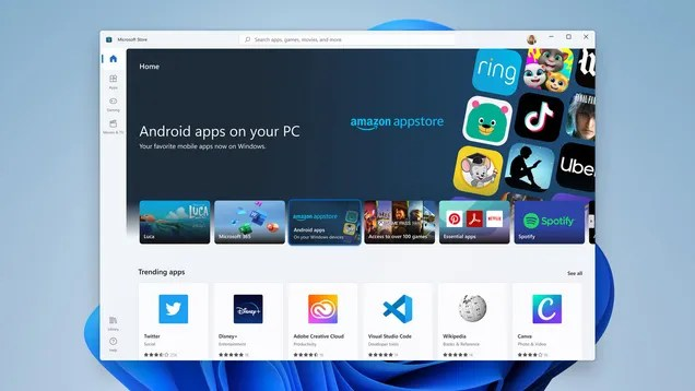 4779bf3751af63e33807c256be5a7e93 Windows 11 Might Let You Sideload Google's New Android App Bundles   Gizmodo