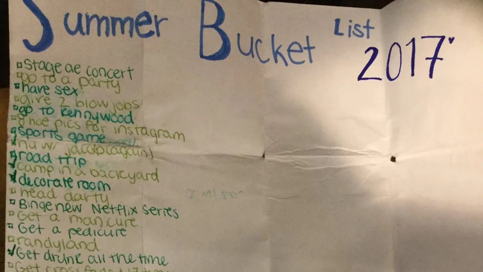 Let This Teen S Summer Bucket List Inspire You To