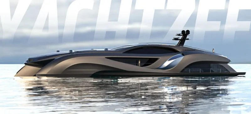 This 25 Million Yacht Looks Like A Supercar Comes With One Inside