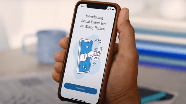 4c79fe0722327d5ffd921d0c45f728e7 Warby Parker's New App Lets You Skip In-Person Vision Tests | Gizmodo